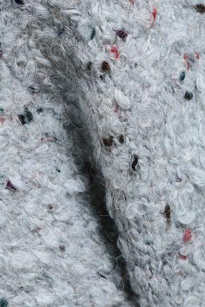 VICTORIA, VICTORIA BECKHAM Bouclé-knit pencil skirt