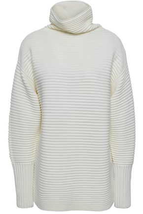 VICTORIA, VICTORIA BECKHAM Ribbed wool turtleneck sweater