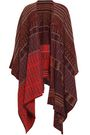 ETRO Cashmere, silk and wool-blend poncho