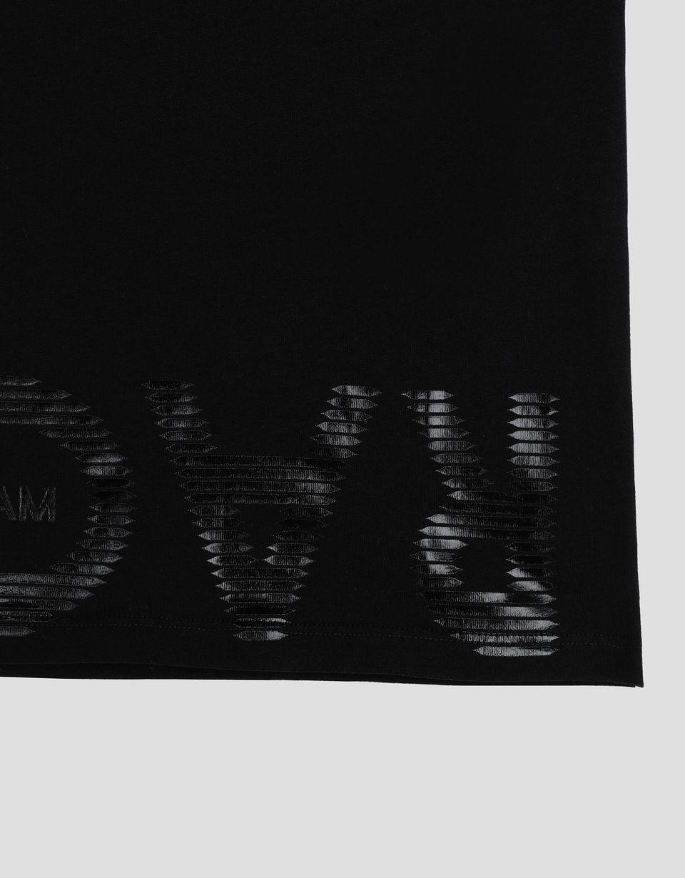 Scuderia Ferrari Online Store - Jungen-Poloshirt aus Baumwolle mit RACE Print - Kurzärmelige Poloshirts