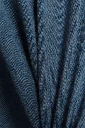 GIORGIO ARMANI Cashmere and silk-blend sweater