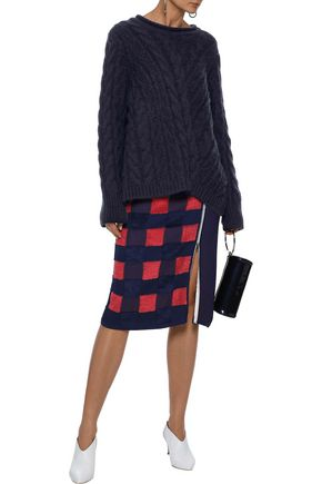 BY MALENE BIRGER Cable-knit sweater