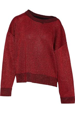 RTA Emmet distressed cashmere sweater