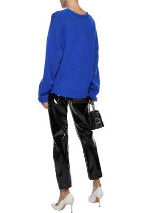 RTA Emmet distressed cashmere sweater