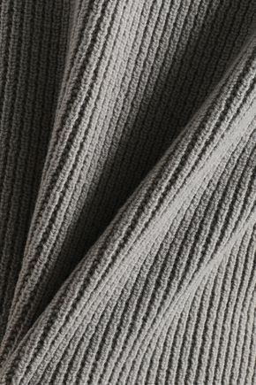 RICK OWENS Ribbed-knit sweater