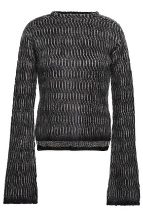 RICK OWENS Jacquard-knit sweater