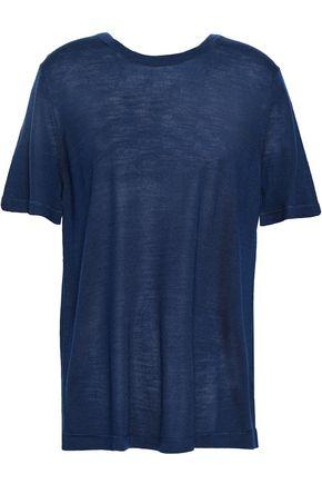 ALEXANDERWANG.T Merino wool-blend top