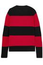 RE/DONE Striped wool and cashmere-blend sweater
