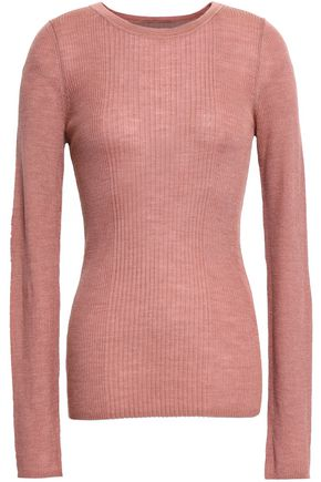T by ALEXANDER WANG Merino wool-blend top