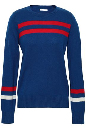 REBECCA MINKOFF Intarsia-knit wool and cashmere-blend sweater
