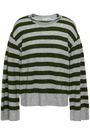 REBECCA MINKOFF Striped cashmere sweater