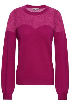 REBECCA MINKOFF Wool and cashmere-blend sweater