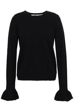 REBECCA MINKOFF Juliette wool and cashmere-blend sweater
