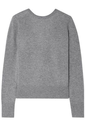 EQUIPMENT Dante wrap-effect cashmere sweater