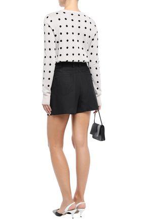 EQUIPMENT Polka-dot jacquard-knit sweater