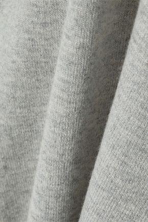 IRIS & INK Lauren mélange cashmere and wool-blend tank