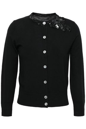 MARC JACOBS Embellished wool cardigan