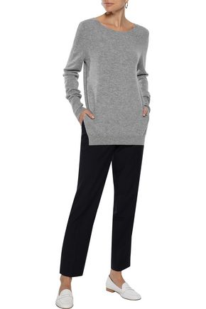 IRIS & INK Claudette wool and cashmere-blend sweater