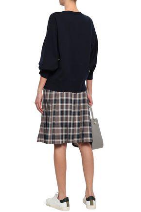 RAG & BONE Button-detailed merino wool-blend sweater