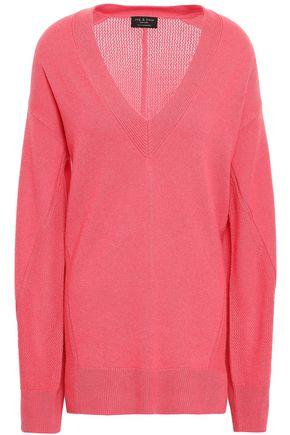 RAG & BONE Sabreena crocheted cashmere sweater