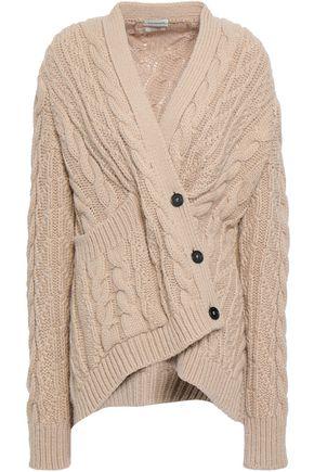 BY MALENE BIRGER Asymmetric cable-knit cardigan