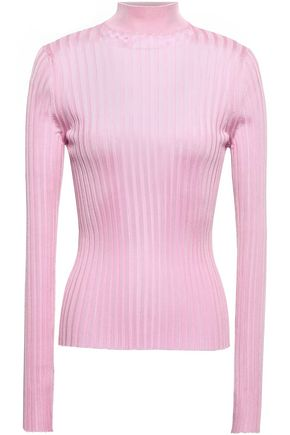 EMILIO PUCCI Ribbed-knit turtleneck top