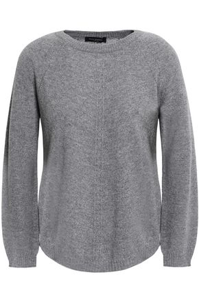 PIAZZA SEMPIONE Mélange wool and cashmere-blend sweater