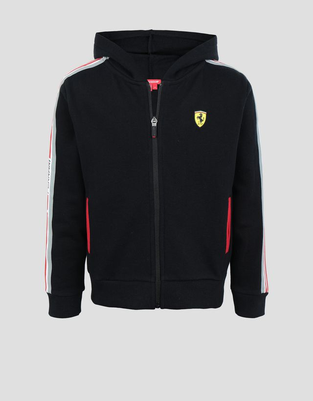 5f58e1635556 Scuderia Ferrari Online Store - Hooded unisex French terry top - Zip Hood  Sweaters ...