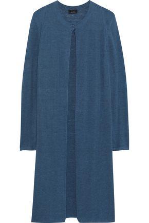 AKRIS Linen and silk-blend cardigan