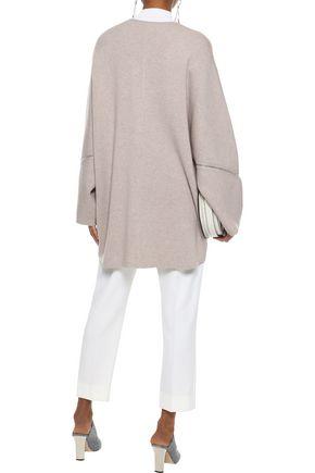 AKRIS Reversible zip-detailed cashmere cardigan