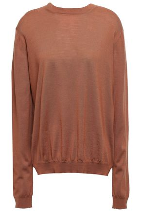 MARNI Wool and silk-blend sweater
