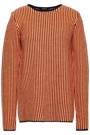 Wool Jacquard Sweater by Derek Lam