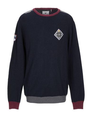 Фото - Мужской свитер WHOOPIE LOOPIE темно-синего цвета