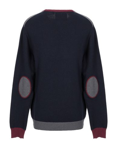 Фото 2 - Мужской свитер WHOOPIE LOOPIE темно-синего цвета
