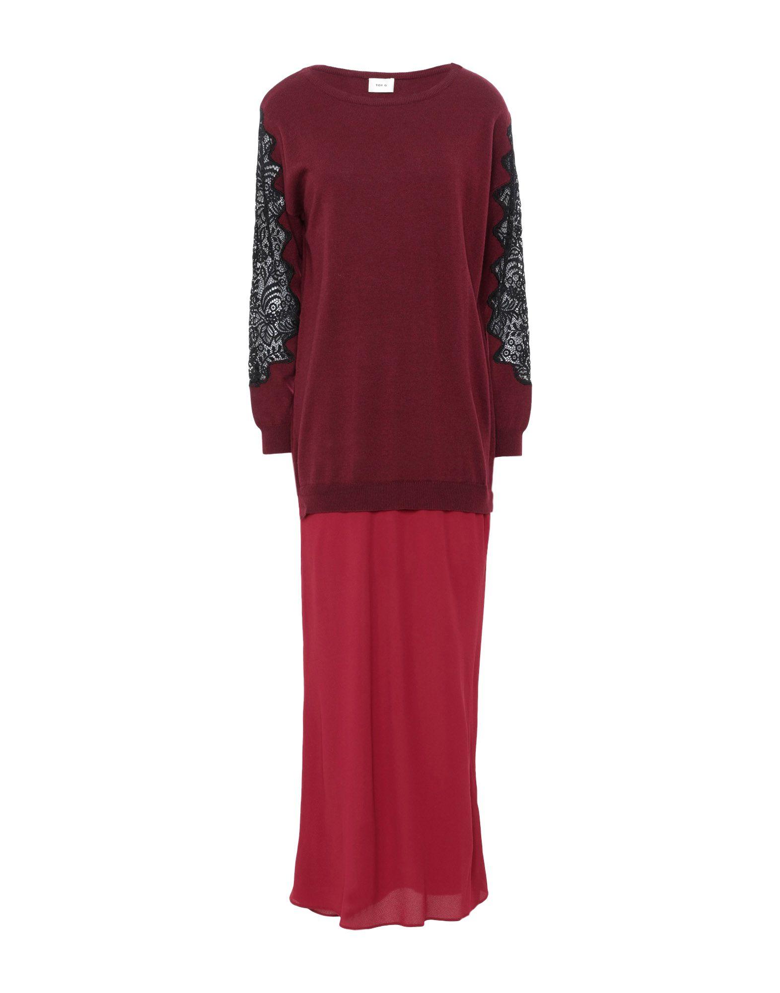 TOY G. Платье длиной 3/4 g na юбка длиной 3 4