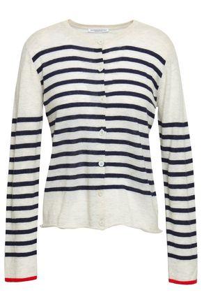 MAJESTIC FILATURES Striped cashmere cardigan