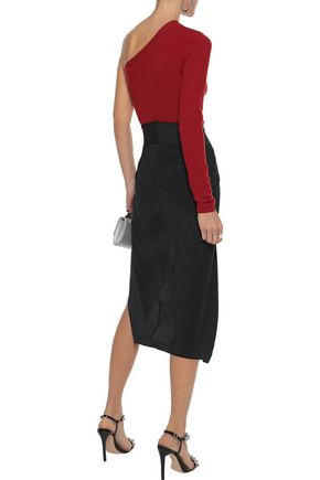 NARCISO RODRIGUEZ One-shoulder cashmere sweater