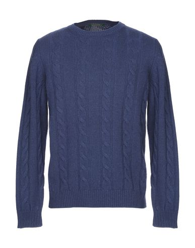 Фото - Мужской свитер PETER STEÍN темно-синего цвета