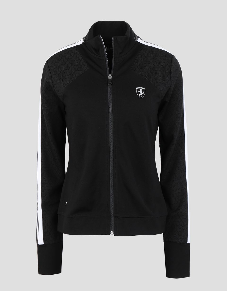 Scuderia Ferrari Online Store - Women's running top with full zip - Zip Jumpers