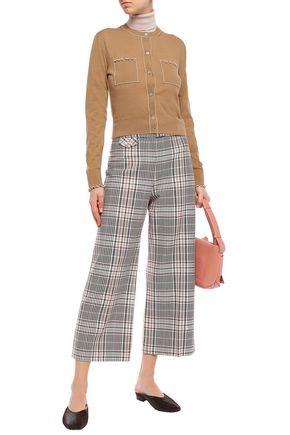ALEXACHUNG Merino wool cardigan