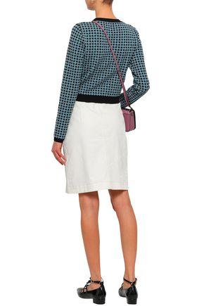 ALEXACHUNG Jacquard-knit cardigan