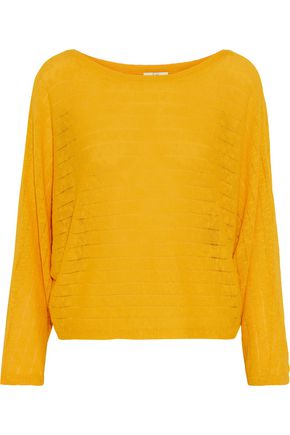 JOIE Brooklynn ramie and cotton-blend sweater