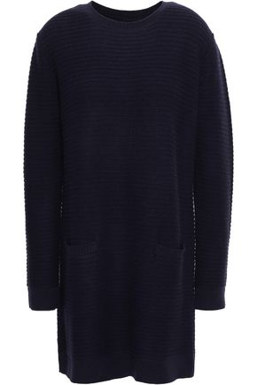CHINTI AND PARKER Ribbed-knit wool and cashmere-blend mini dress