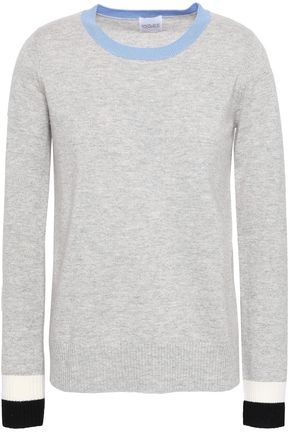 MADELEINE THOMPSON Mélange wool and cashmere-blend sweater