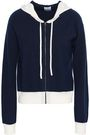 MADELEINE THOMPSON Wool and cashmere-blend hooded cardigan