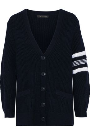 RAG & BONE Addams ribbed merino wool cardigan