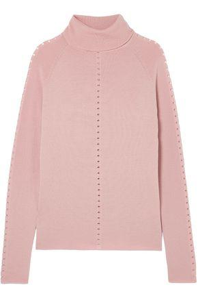 LELA ROSE Wool turtleneck sweater