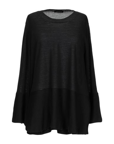 Фото - Женский свитер ROBERTO COLLINA черного цвета