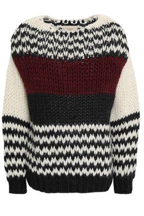 BA&SH Wool-blend knitted sweater