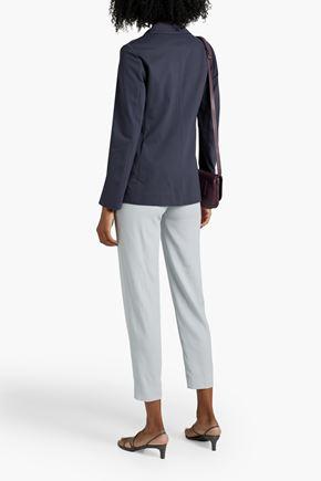 IRIS & INK Lauren wool and cashmere-blend vest